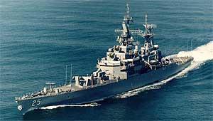 USS Bainbridge CGN-25